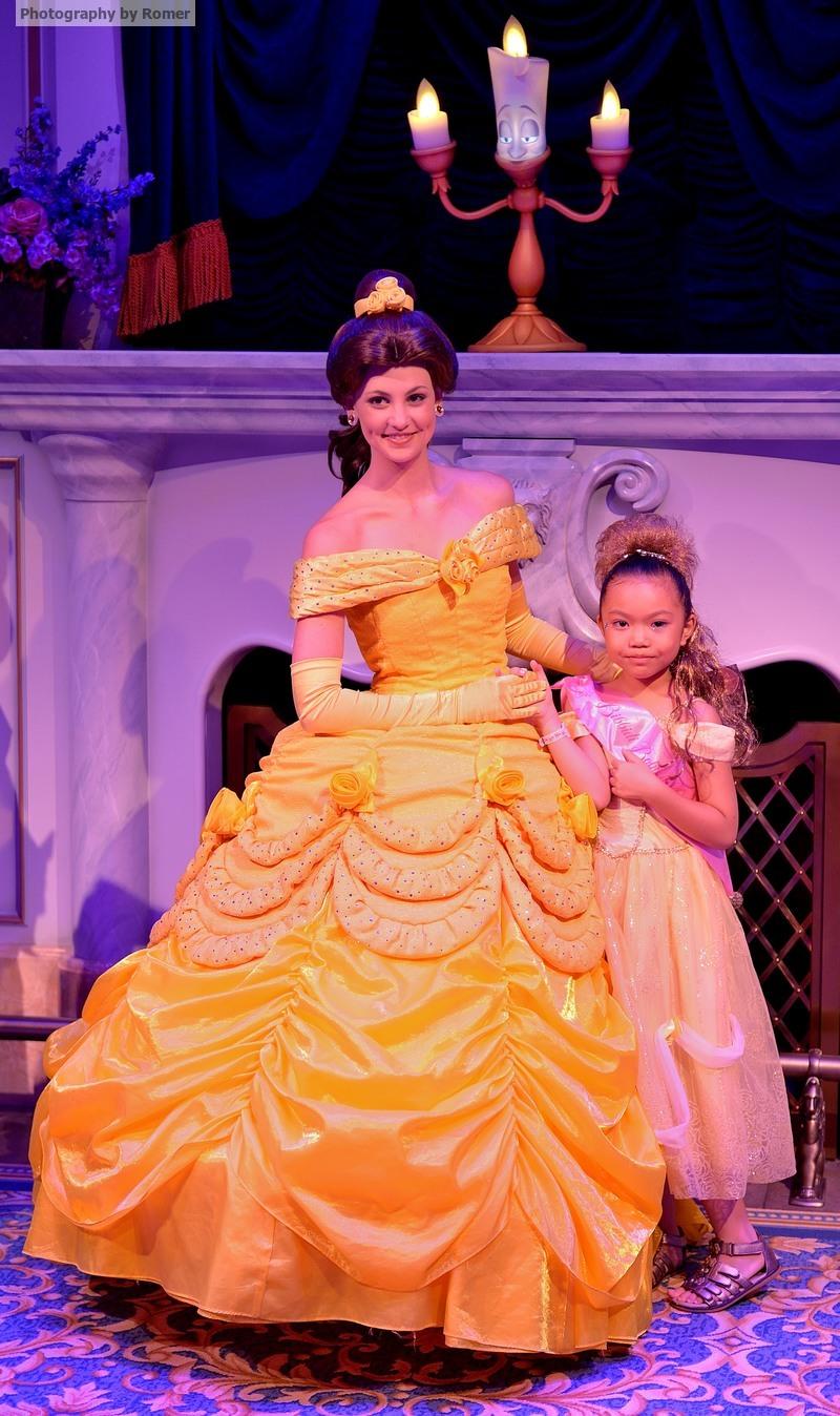 Belle2Disney World Belle 2014
