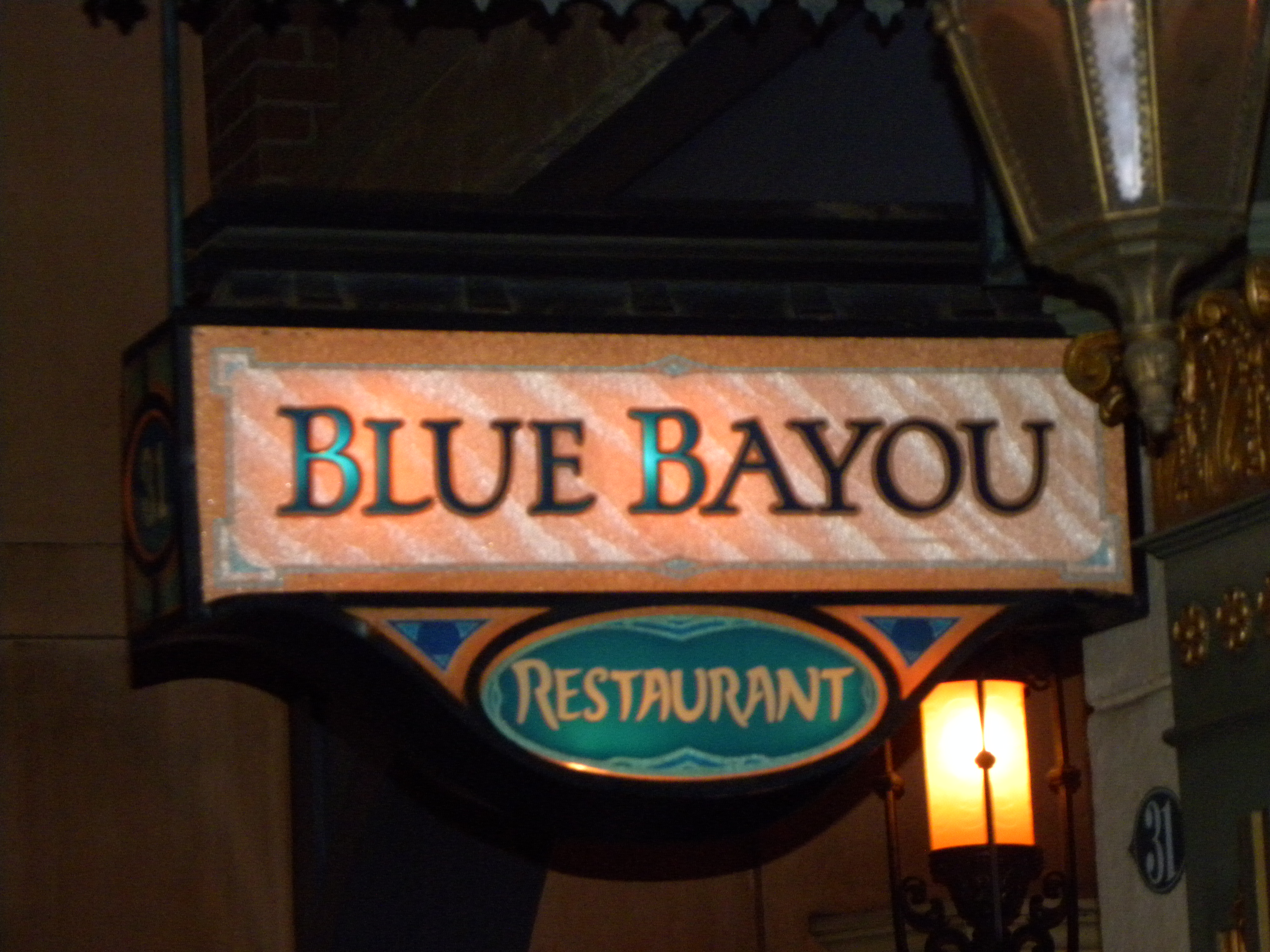 The Blue Bayou at Disneyland- Dining Review