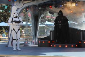Vader enters!