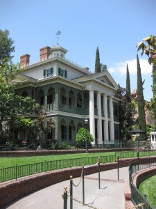 The Disneyland Haunted Mansion
