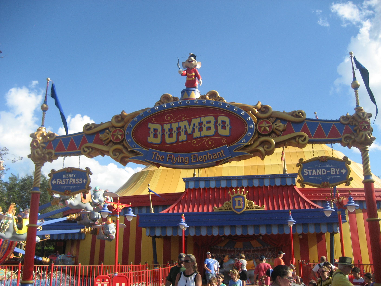 Dumbo Ride at Disney World