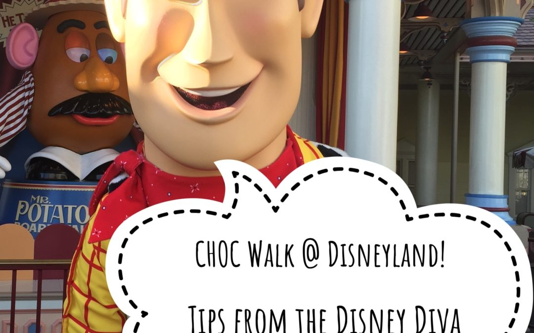Throwback Thursday: 5 Benefits of Participating In the CHOC Walk In The Park at Disneyland