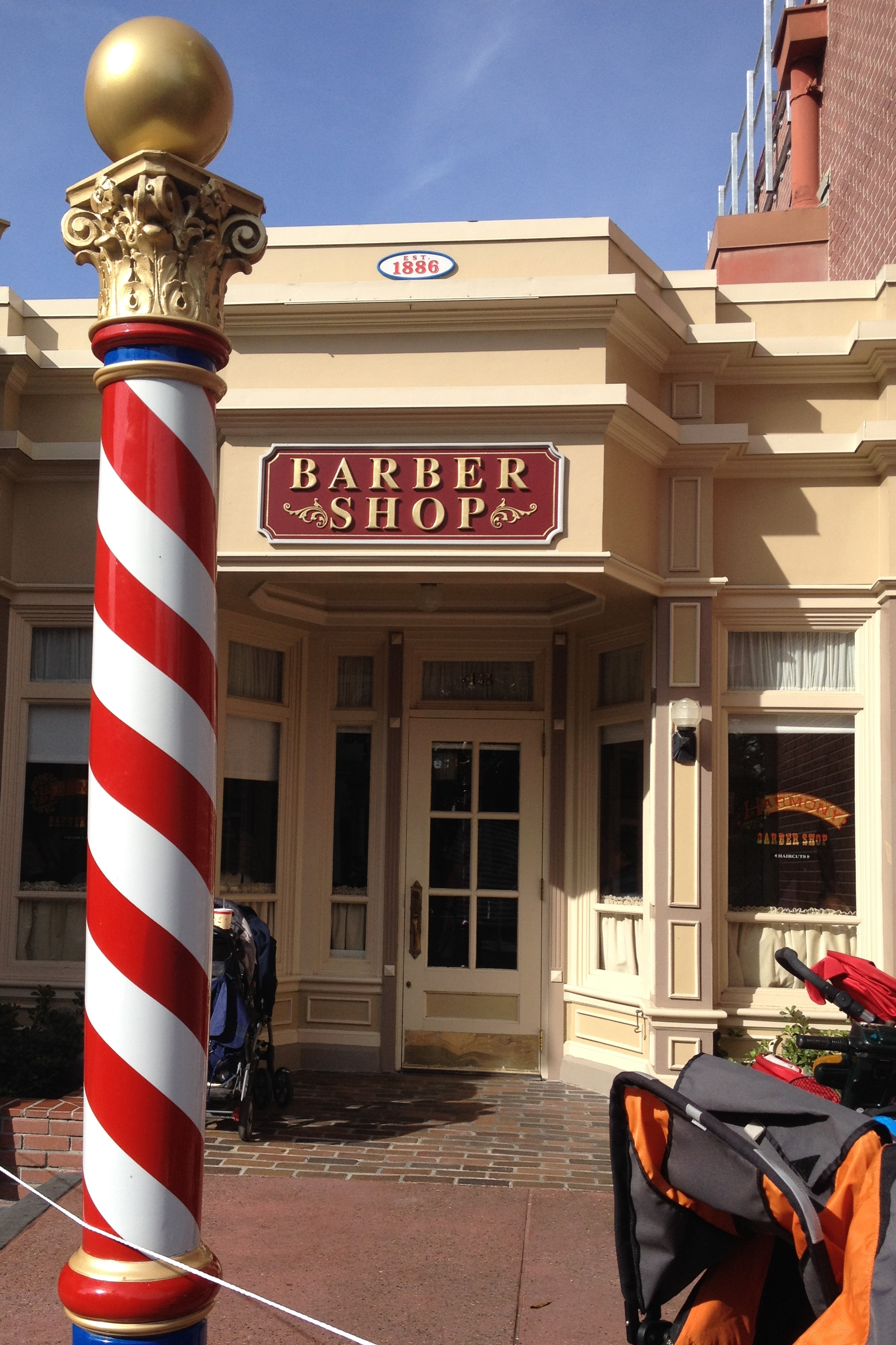 Top 5 Reasons To Visit Harmony Barber Shop At Walt Disney Worlds