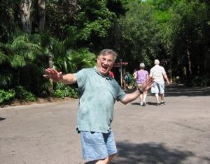 Happy guy at Disney