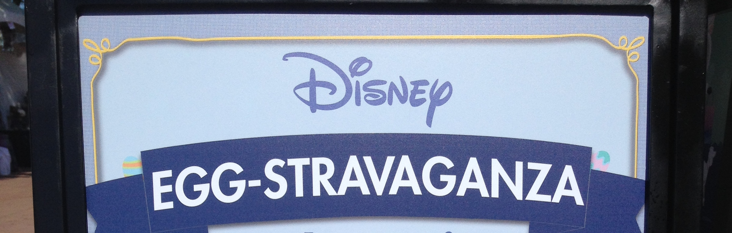 Disney Egg-stravaganza 2015 at Epcot