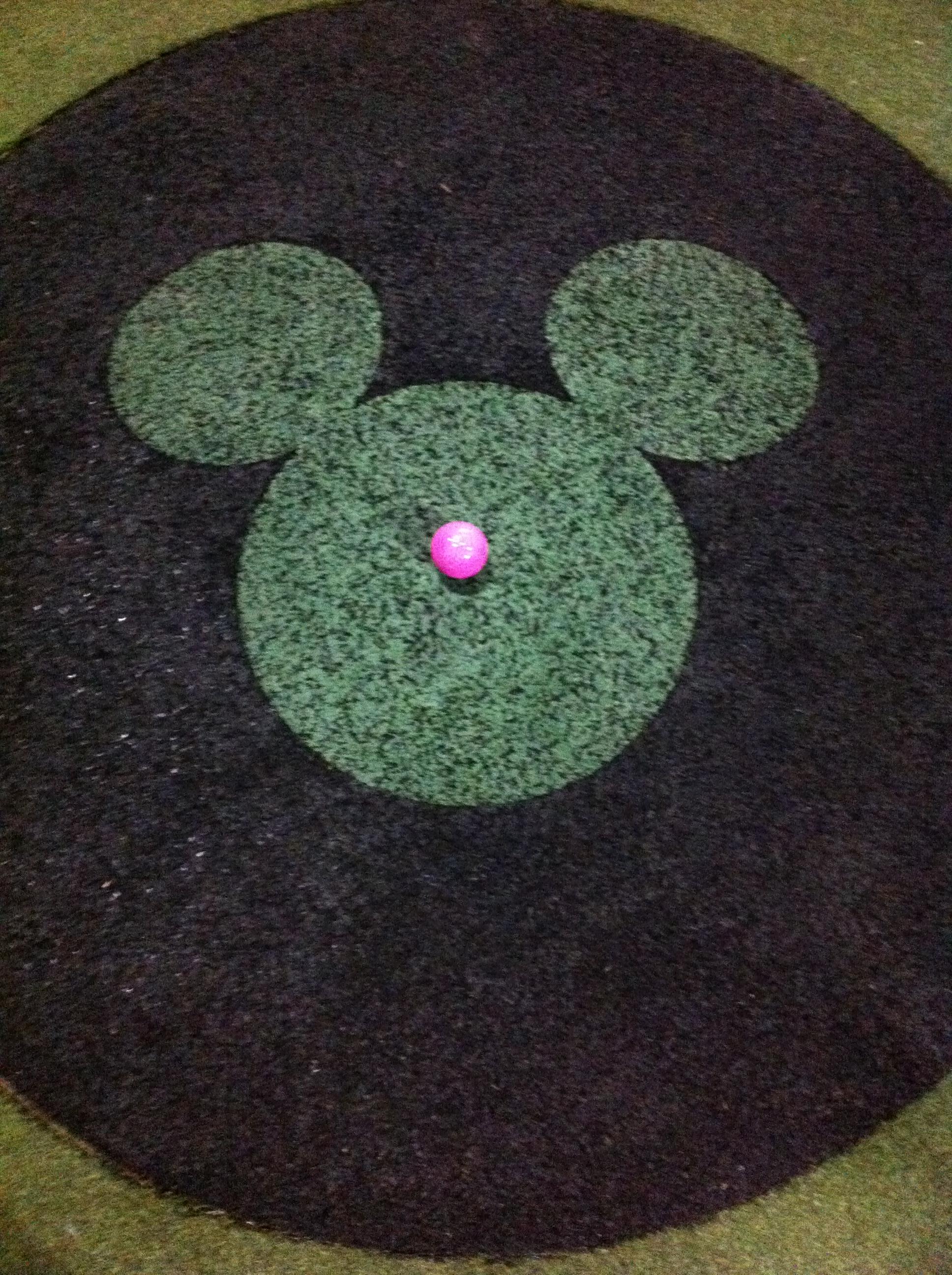 Mini Golf at Disney