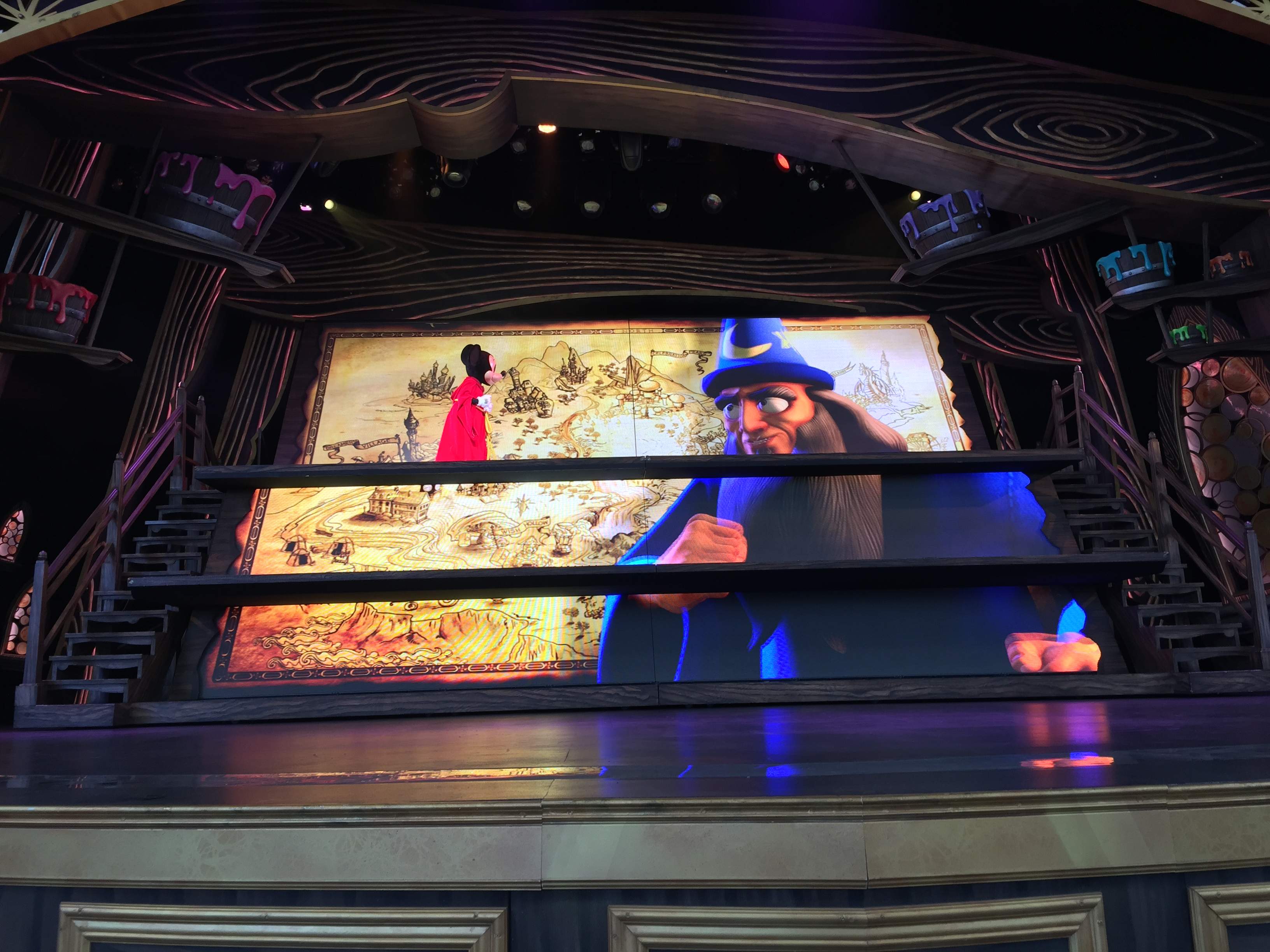 Mickey and the Magical Map at Disneyland