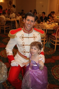 Fancy Free Daughter being charmed by Prince Charming.