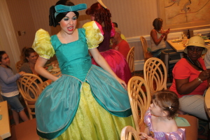 Drizella shows some attitude