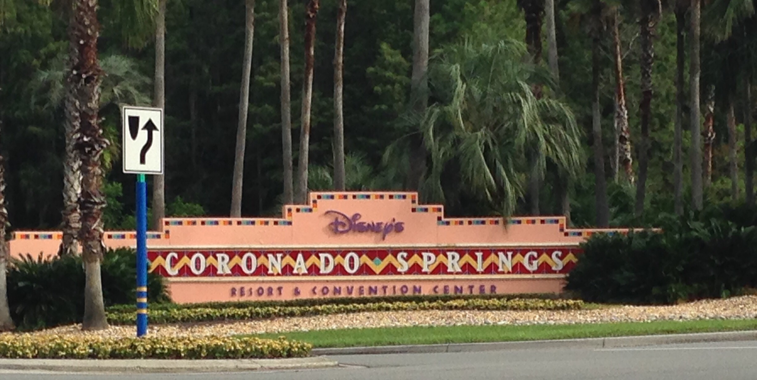 Staying at The Coronado Springs Resort