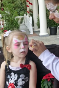 2012 Dec face paint becoming a kitty