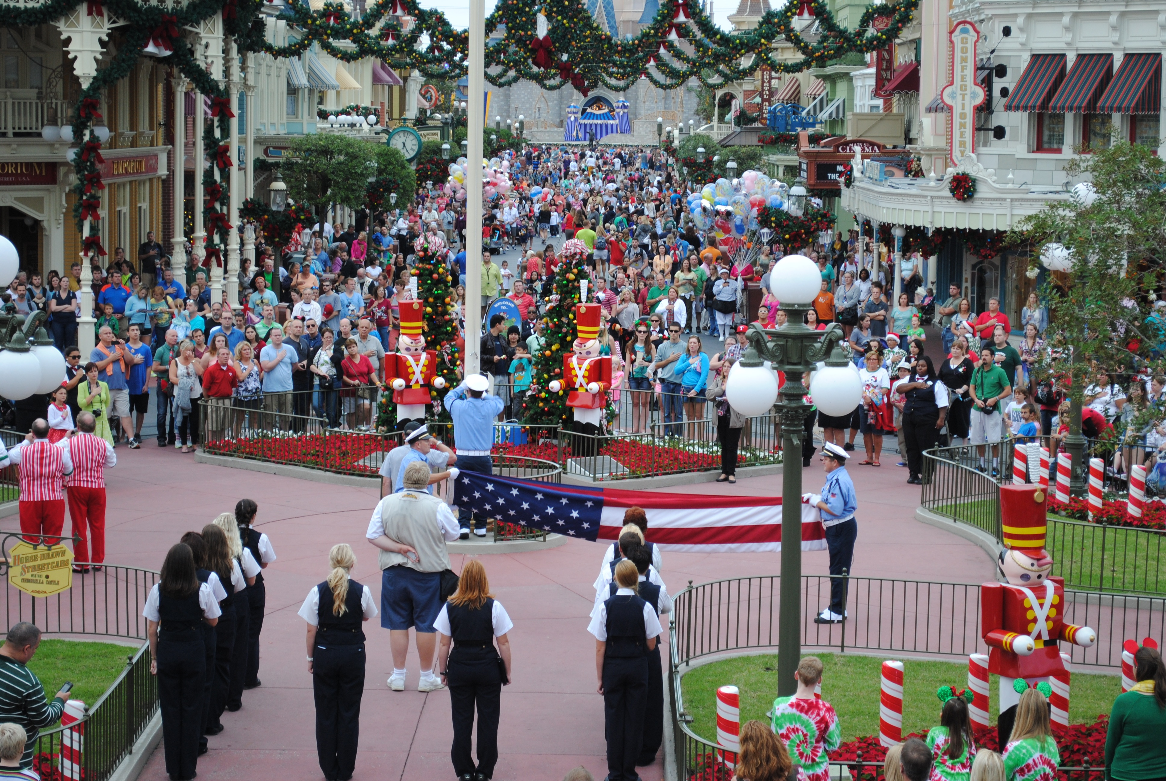 Walt Disney World's Flag Retreat- A Definite Don't Miss