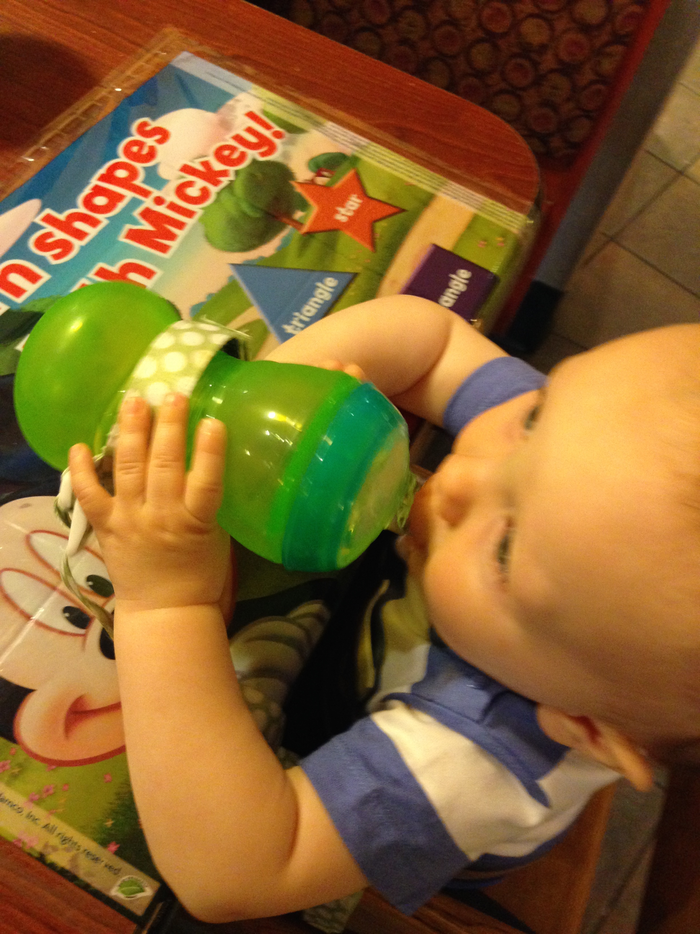 5 Things to Pack When Dining With a Toddler at Disney