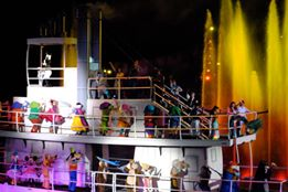 Fantasmic! River Boat by Kerry Guedry