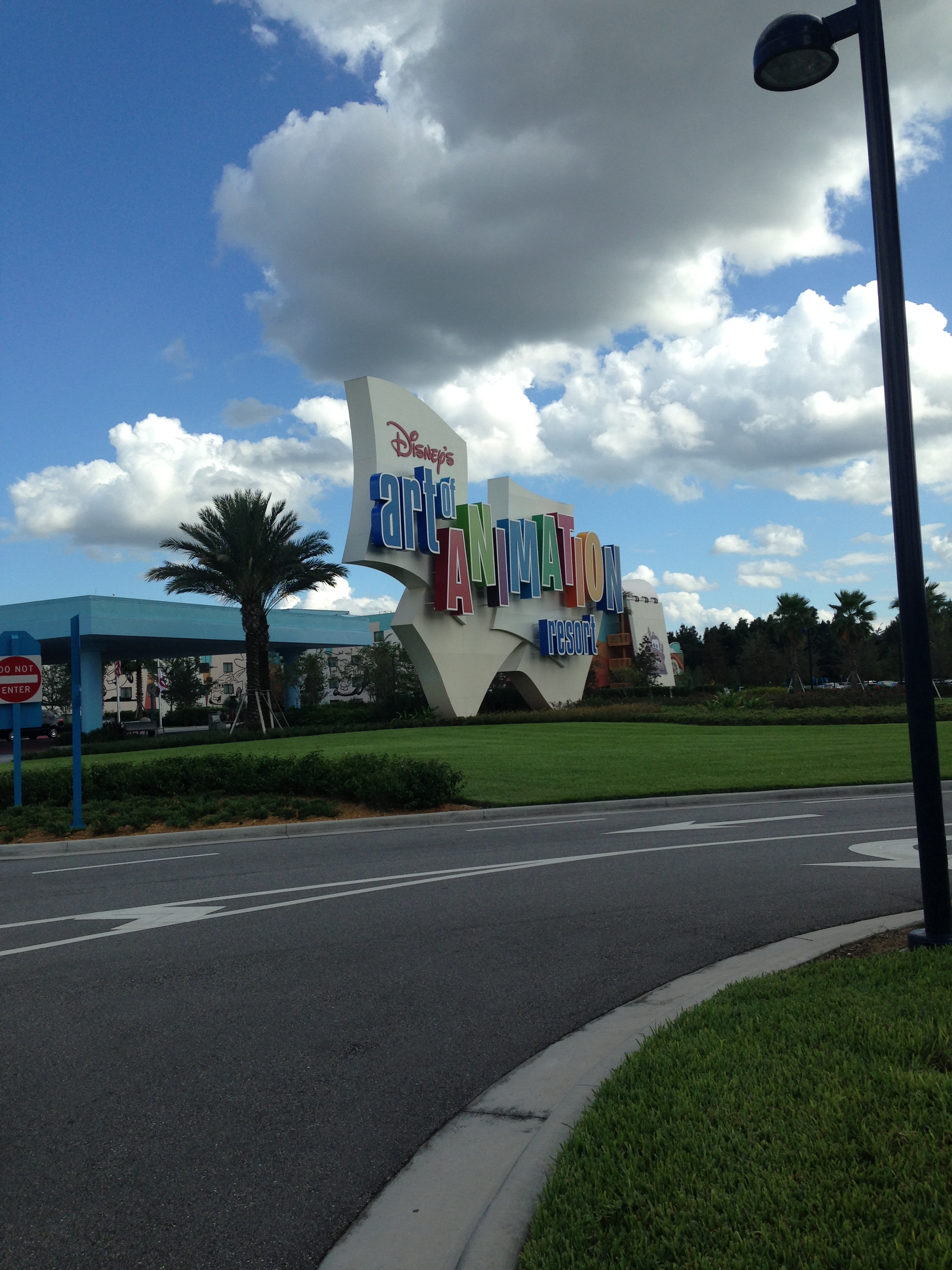 Into the Art of Animation Resort at Disney World!