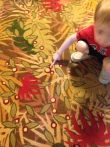 Hidden Mickeys in room!