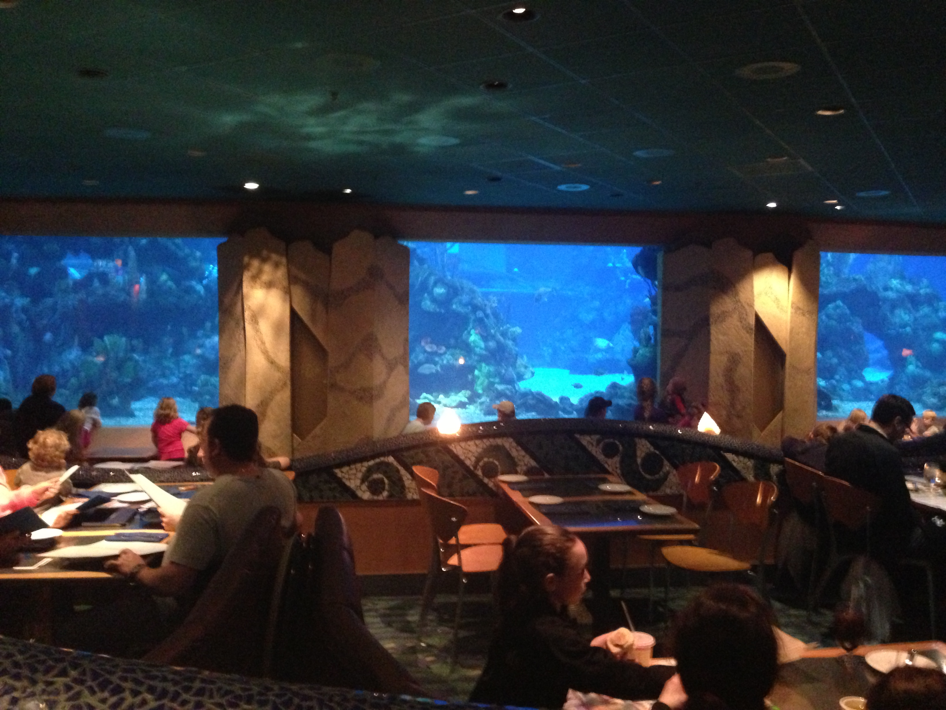Under the Sea Dining at Epcot's Coral Reef Restaurant