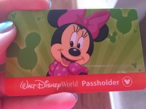 passholder card