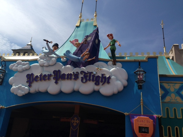 Peter Pan's Flight, Your New Must Do at Magic Kingdom Park!