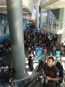 D23 Expo Crowds