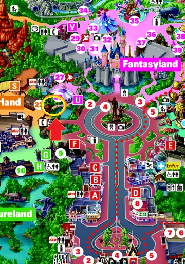 Where to go when you (or your legs) are tired at Disneyland