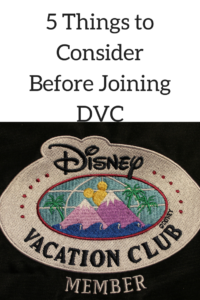 5 Things to Consider Before Joining Disney Vacation Club