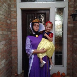 Evil Queen and Snow White