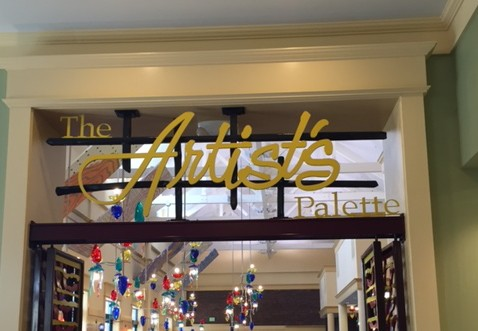 The Artist's Palette – Not Your Typical Disney Food Court