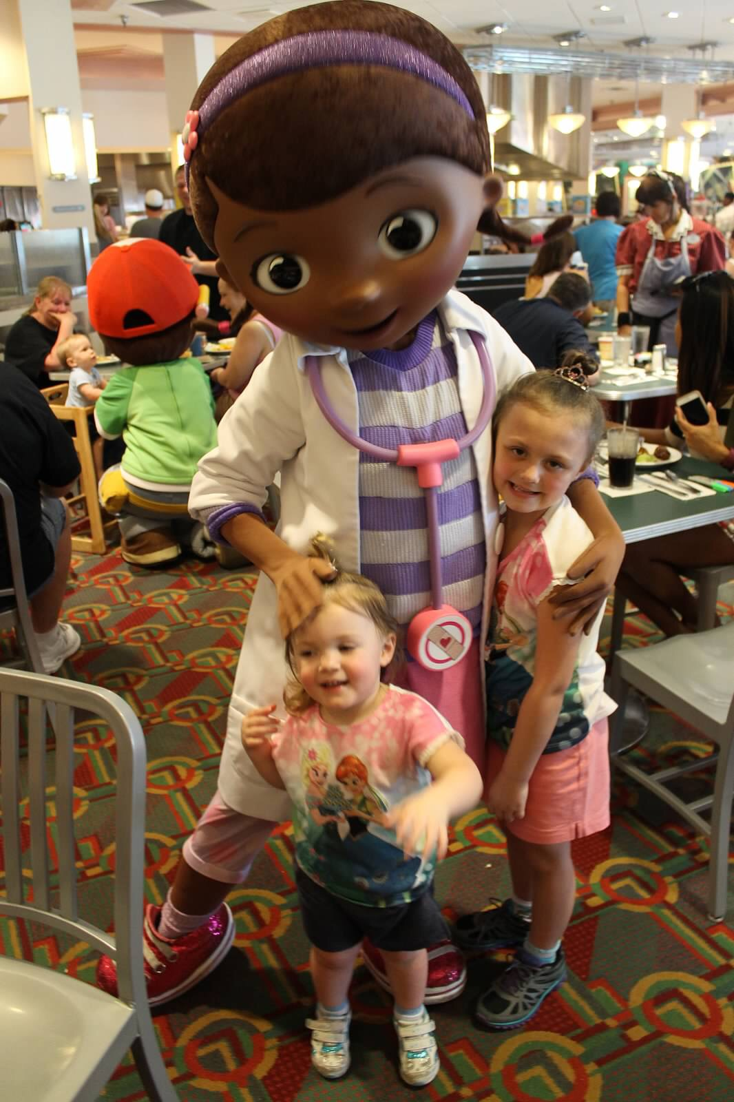 Meeting your favorite characters at disneys hollywood studios dance and sing along with doc mcstuffins sofia the first jake and handy manny this play and dine experience will have your little one doing the hot dog kristyandbryce Images