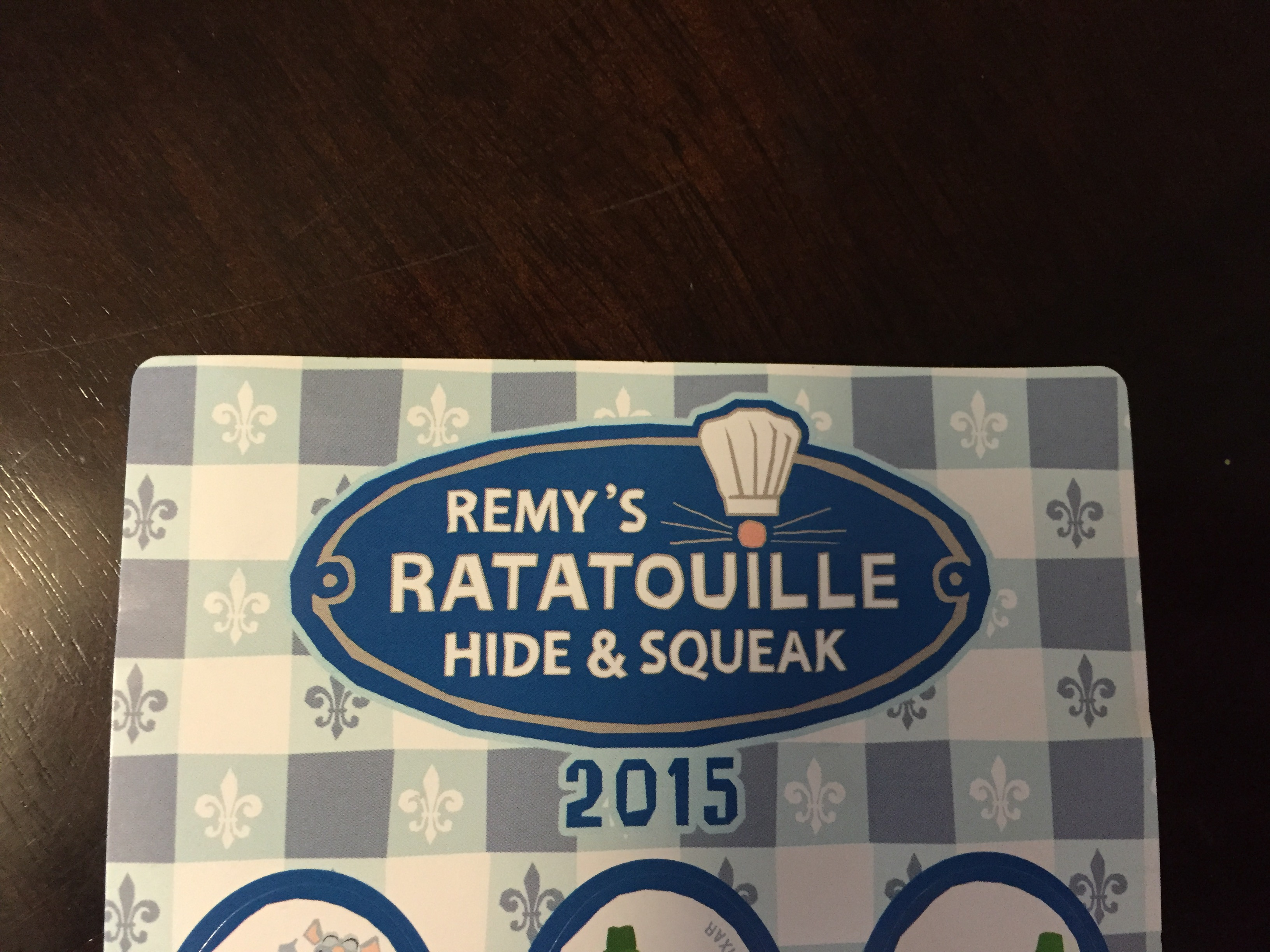 Remy's Ratatouille Hide & Squeak during Epcot's International Food & Wine Festival