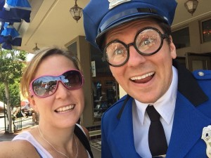 Tangled Diva with Officer Calvin Blue