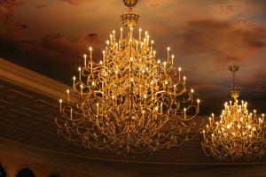 bog chandelier