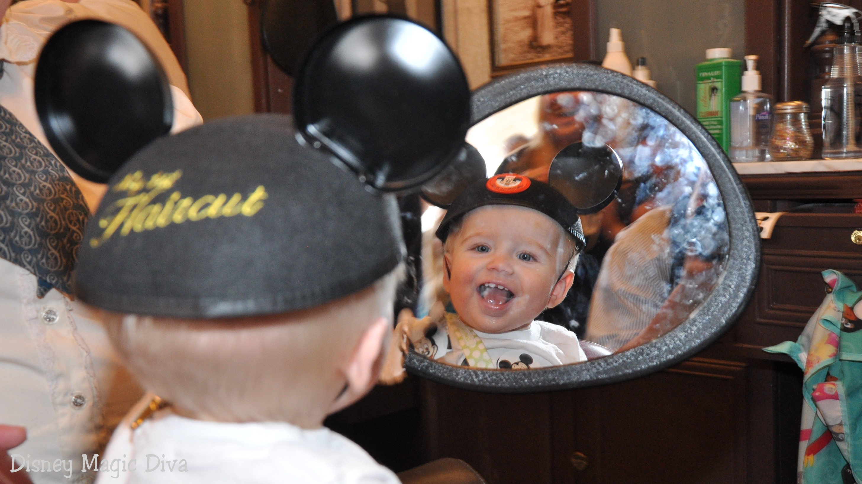 Create a Magical Memory at Walt Disney World's Harmony Barber Shop
