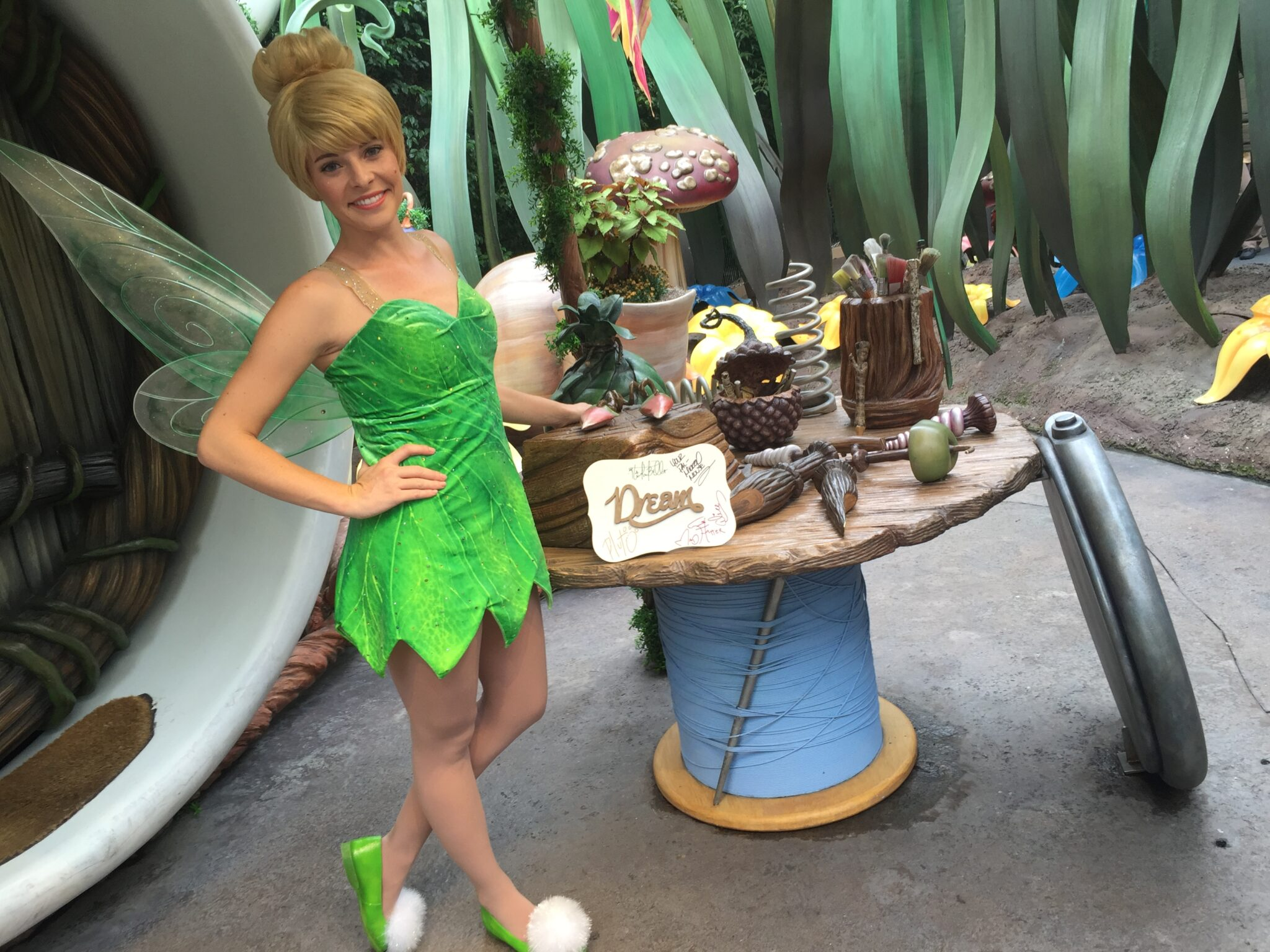 Tinker Bell and Friends Meet and Greet at Disneyland