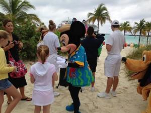 Minnie on Castaway Cay