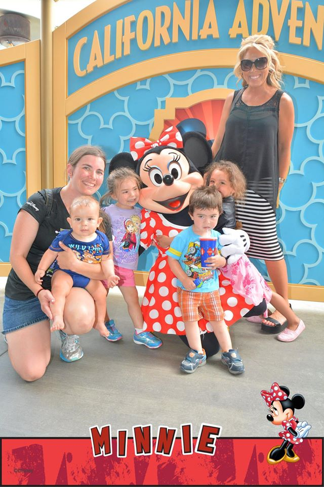 Guide to finding characters in california adventure tips from the character diva with friends and family at visa meet and greet m4hsunfo