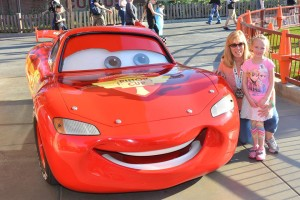 Disney Magic Diva and Family with Lightning McQueen