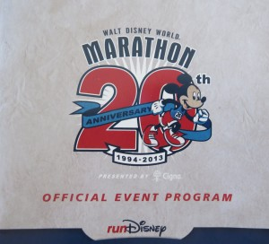 runDisney Official Event Guide Disney Marathon Weekend 2013