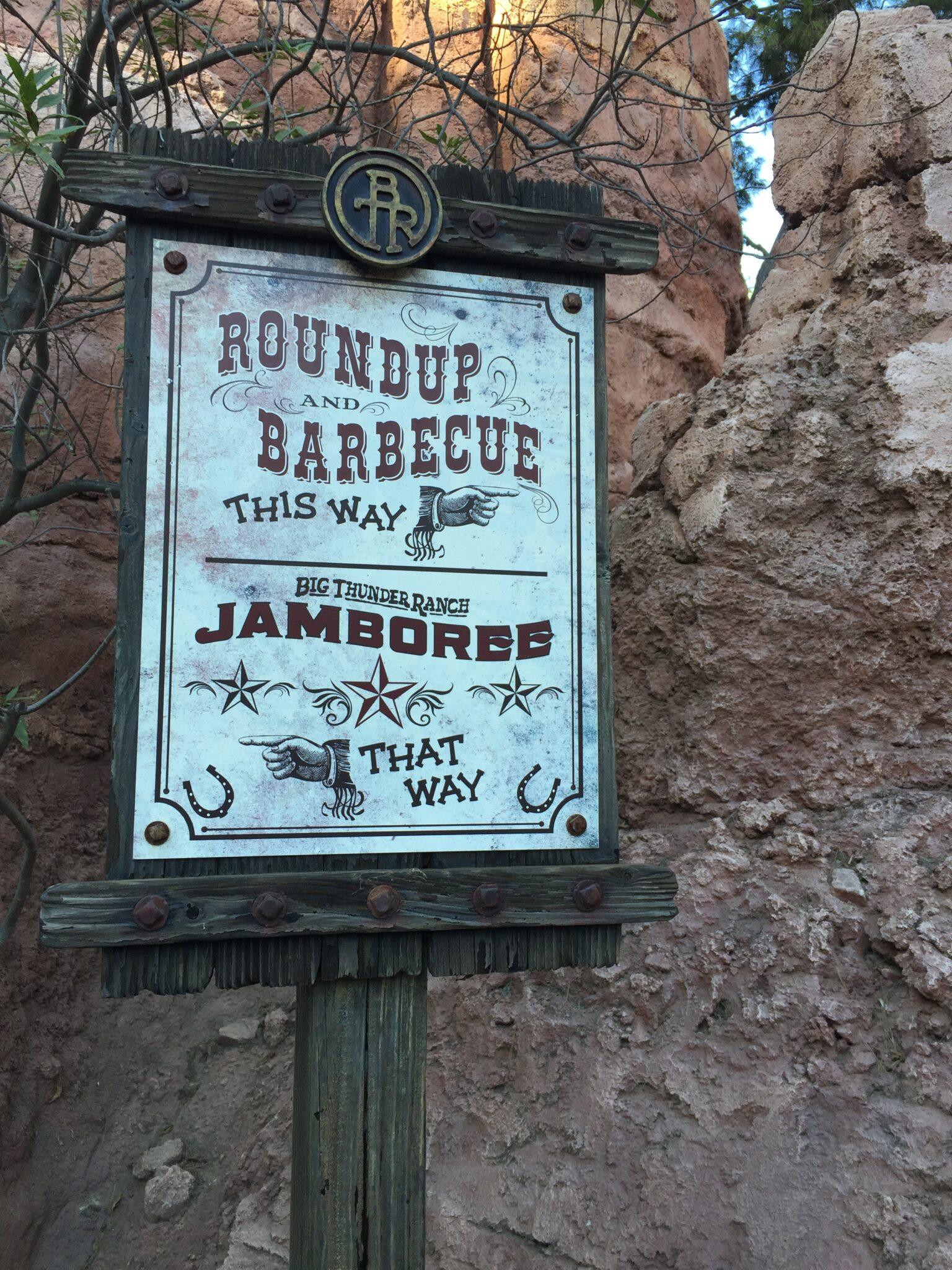 Remembering Big Thunder Ranch BBQ at Disneyland