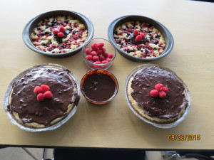 Finished Desserts!