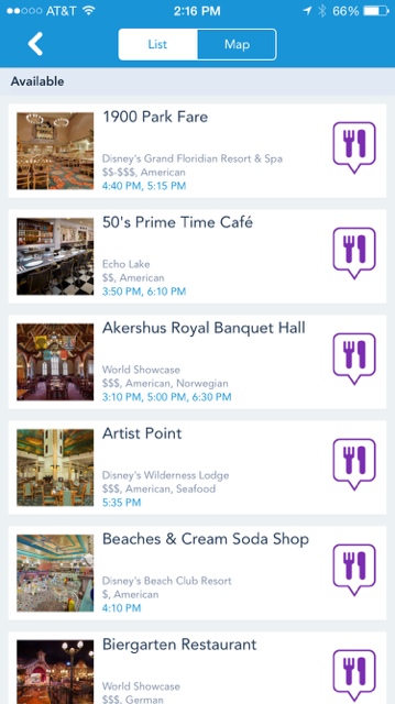 Dining Reservations 101 – Walt Disney World