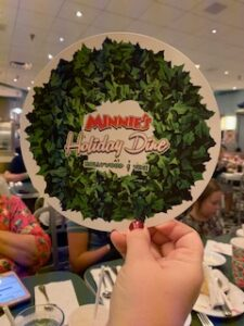'Tis the Season at Minnie's Holiday Dine at Hollywood & Vine!