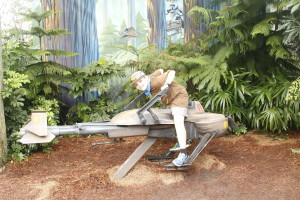 Speeder Bike near Star Tours