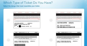 Which type of ticket do you have?