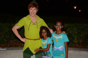 Fancy Free Nieces with Peter Pan