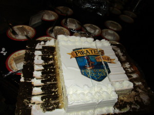 Pirates and Pals cake - yum!