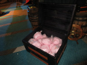 Cotton candy pirate's treasure