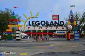 This is the entrance to Legoland. It's got some great attractions if you've got little ones in your travel party!
