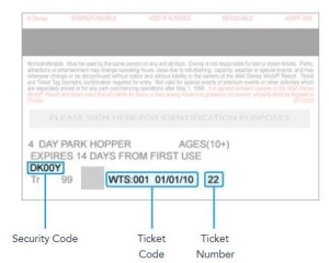 Ticket Numbers