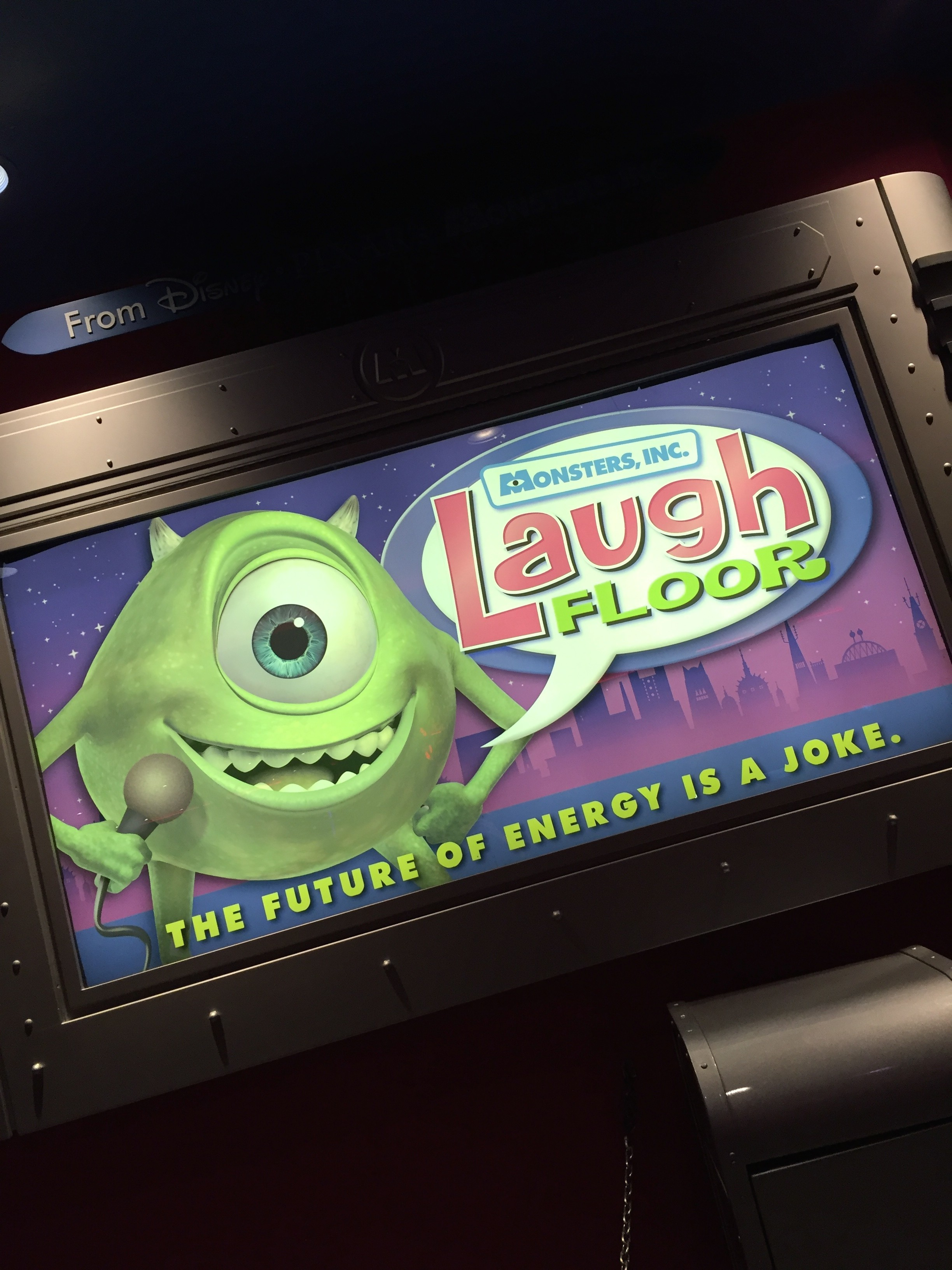 Monster's Inc. Laugh Floor: How to be featured